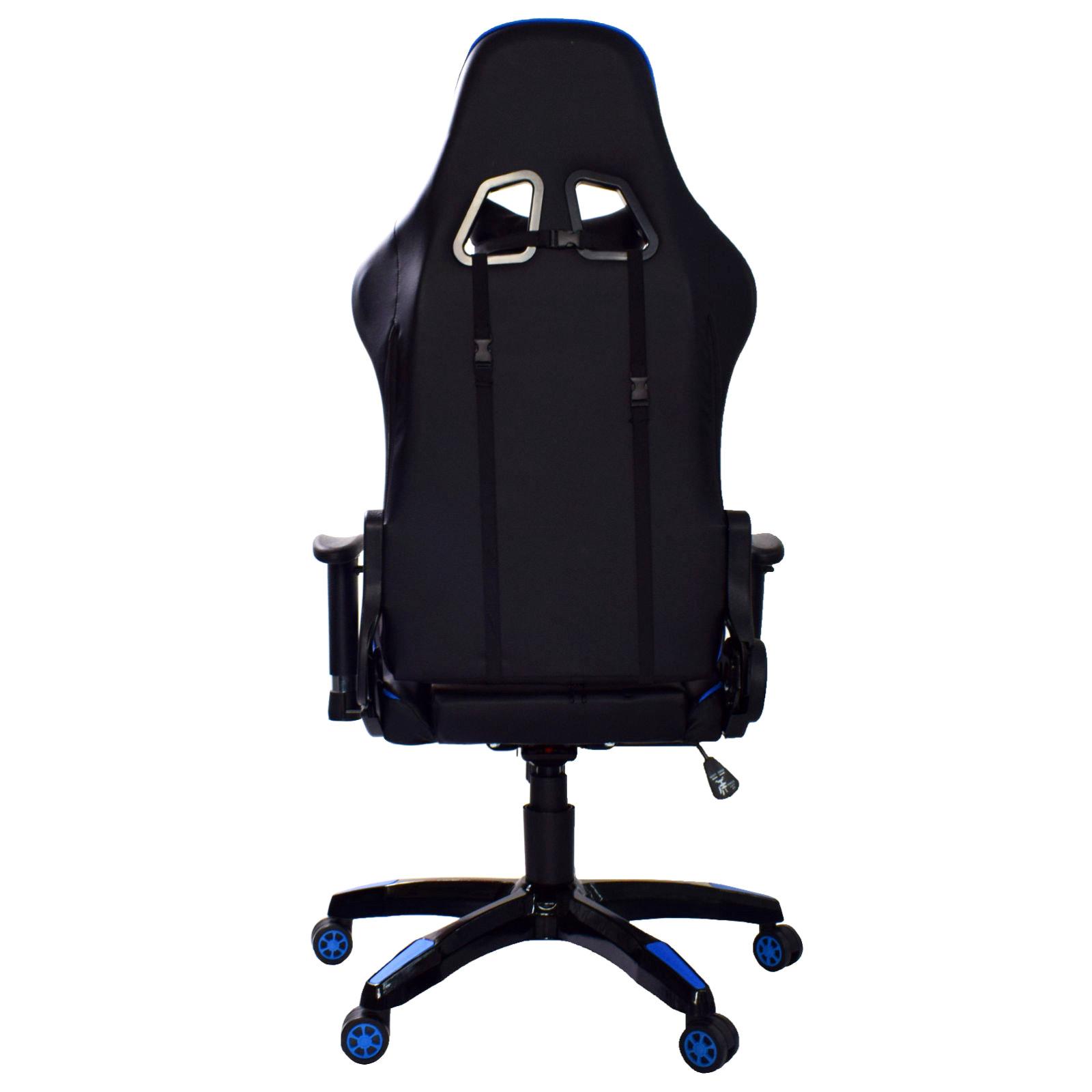 Gamingstuhl Sportsitz Sessel Drehstuhl Bürosessel Game Schreibtischstuhl Kissen