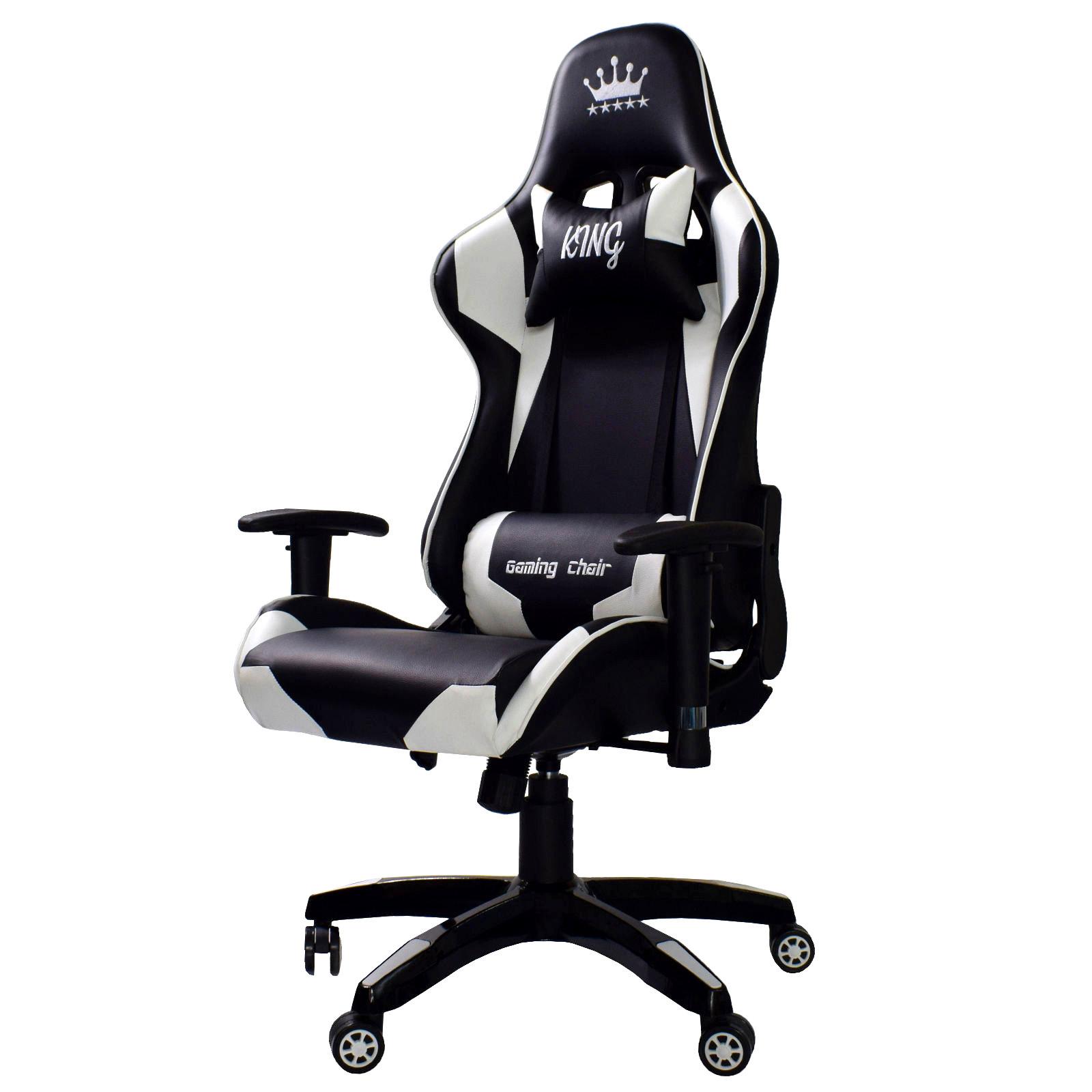 Büro & Schreibwaren Initiative Bürostuhl Race Schwarz Gaming Chefsessel Racer Drehstuhl Schreibtischstuhl Produkte Werden Ohne EinschräNkungen Verkauft