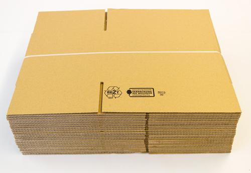neue faltkartons post versand schachteln 300 x 200 x 200 frei haus ebay. Black Bedroom Furniture Sets. Home Design Ideas