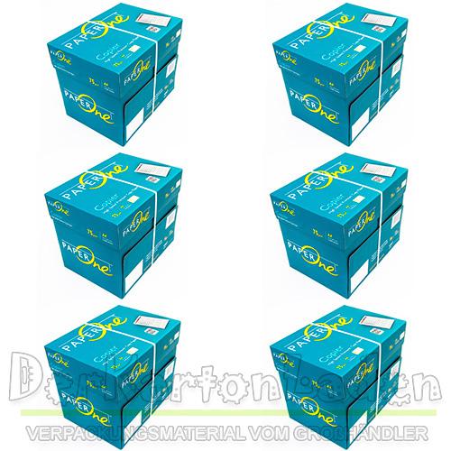 Paper-One-DIN-A4-Kopierpapier-Druckerpapier-Weiss-Copier-Papier-75-Buerobedarf