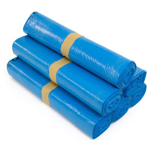 1000 x abfalls cke 120 liter m llbeutel blau ebay. Black Bedroom Furniture Sets. Home Design Ideas