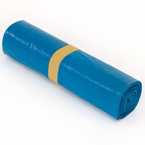 40 x ldpe m llbeutel m lls cke 240 liter blau. Black Bedroom Furniture Sets. Home Design Ideas