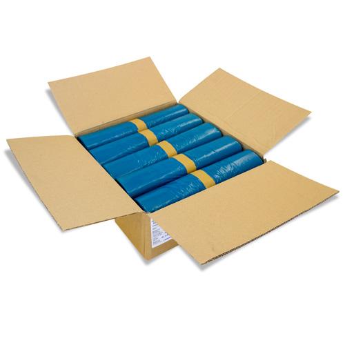 wow neu 120l 240l m lls cke blau schwarz abfallbeutel m llt ten ebay. Black Bedroom Furniture Sets. Home Design Ideas