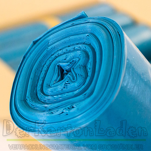 20 x m lls cken abfalls cke 240 liter blau ebay. Black Bedroom Furniture Sets. Home Design Ideas