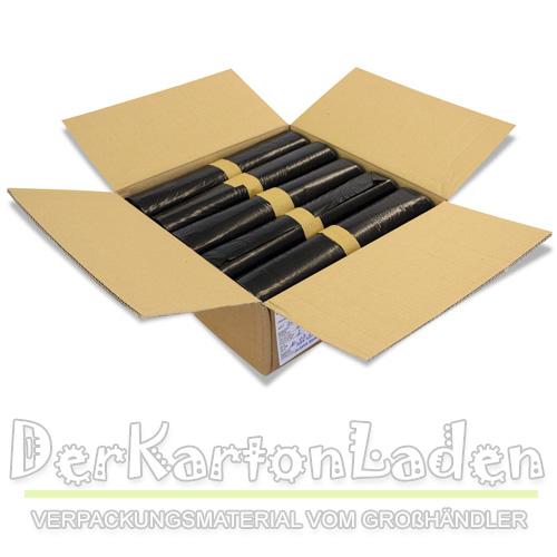 1000 st ck m llbeutel120 liter abfalls cken schwarz ldpe folie muellsaecke ebay. Black Bedroom Furniture Sets. Home Design Ideas