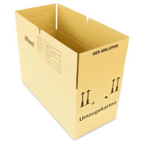 profi umzugskartons umzugskisten b cherkartons 1 oder 2 wellig frei haus ebay. Black Bedroom Furniture Sets. Home Design Ideas