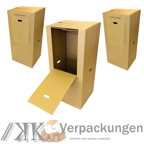 3 kleiderkarton kleiderbox karton f r kleider kleidung box. Black Bedroom Furniture Sets. Home Design Ideas