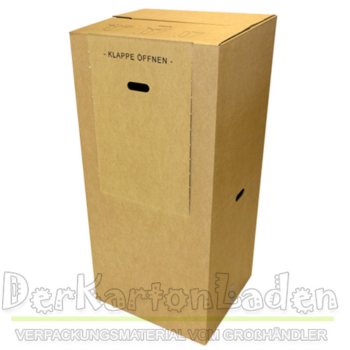 2 kleiderbox kartonangen kleider karton anzug xxl profilware ebay. Black Bedroom Furniture Sets. Home Design Ideas