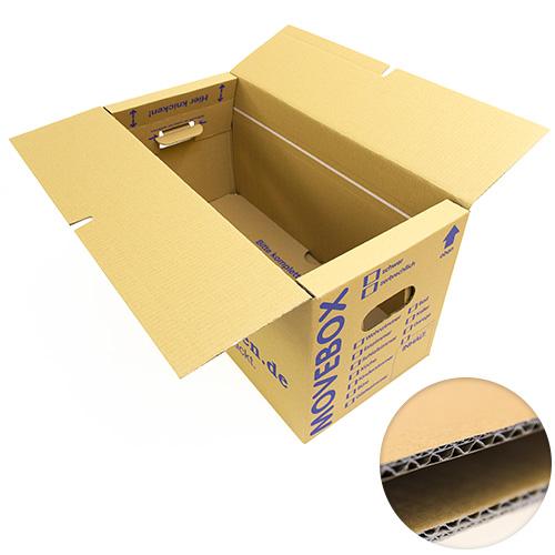 30 profi umzugskartons umzug karton 2 wellig 40kg umzugskisten movebox ebay. Black Bedroom Furniture Sets. Home Design Ideas
