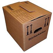Bücherkartons Basic für Umzug, Transport und Verpackung