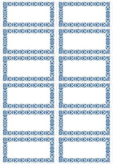 HERMA 3742 10x Küchenetiketten Neutral