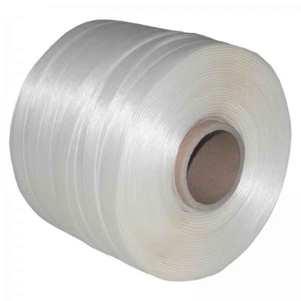 1 Rolle 16 mm 340 m 450 KG Ballenpresse Textil Band Umreifungsba
