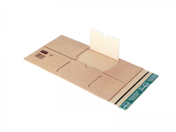 Buch-Versandverpackungen mit zentraler Packgutaufnahme DIN C5 23