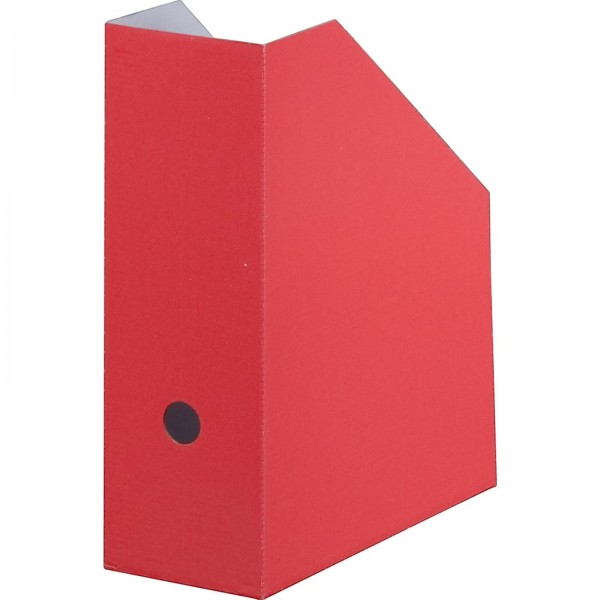 Archiv-Stehsammler 105 mm Rückenbreite DIN A4 Rot