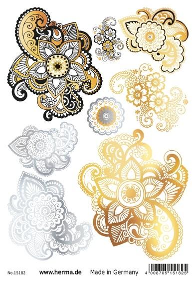 HERMA 15182 5x FLASH Tattoo Mandala