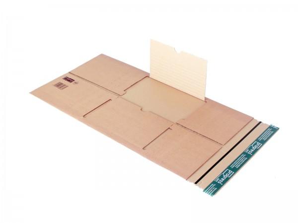 Buch-Versandverpackungen mit zentraler Packgutaufnahme DIN A4 30