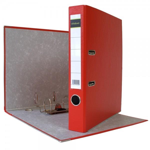 Ordner A4 5 cm PP Kunststoff Rot Aktenordner Briefordner