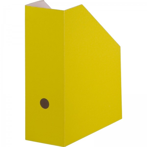 Archiv-Stehsammler 105 mm Rückenbreite DIN A4 Gelb