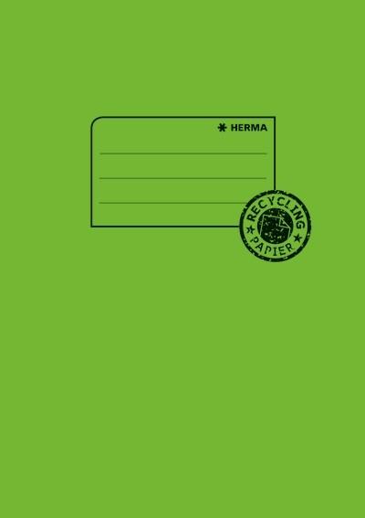 HERMA 5508 10x Heftschoner Papier A5 grasgrün