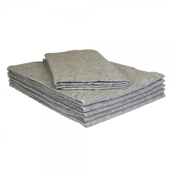 Umzugsdecken 130 x 200 cm Packdecken Lagerdecken Möbeldecken