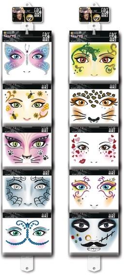 HERMA 15311 Sortiment Face Art Sticker Hängeleisten
