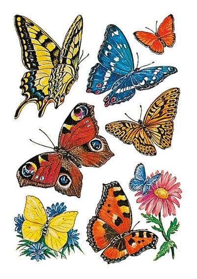 HERMA 3801 10x Sticker DECOR Schmetterlinge