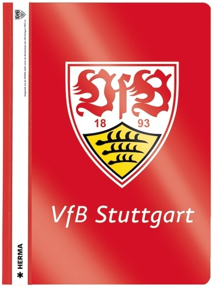 HERMA 19158 2000x Schnellhefter A4 VfB Stuttgart