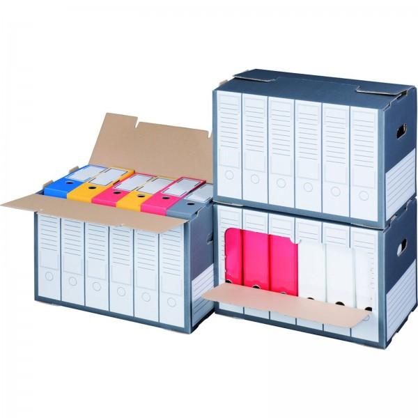 Archivcontainer für Ordner 498 x 295 x 322 mm Anthrazit