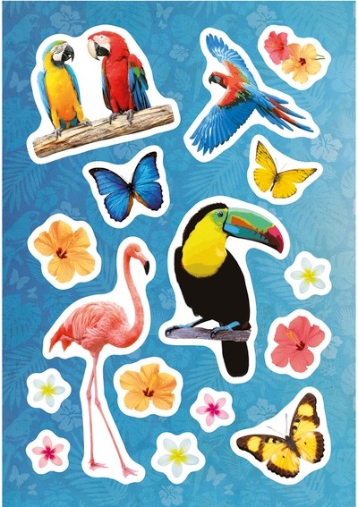 HERMA 15215 10x Sticker MAGIC Paradies, Folie