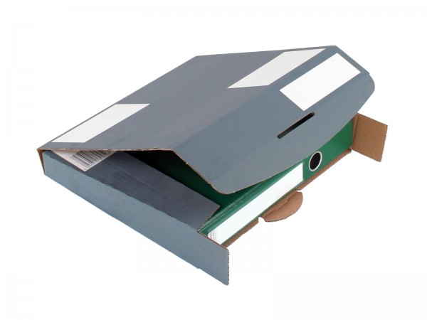 Ordner-Transport-Box 320 x 288 x 50 mm anthrazit