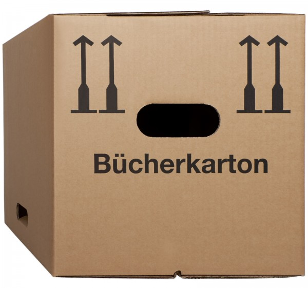 Bücherkarton / Aktenkarton - Basic