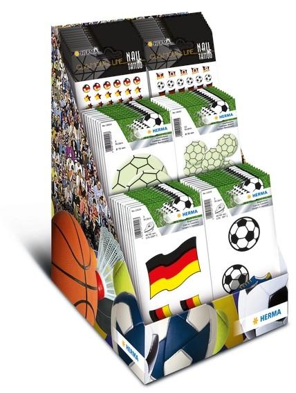 HERMA 3237 Sortiment Fussball Fan