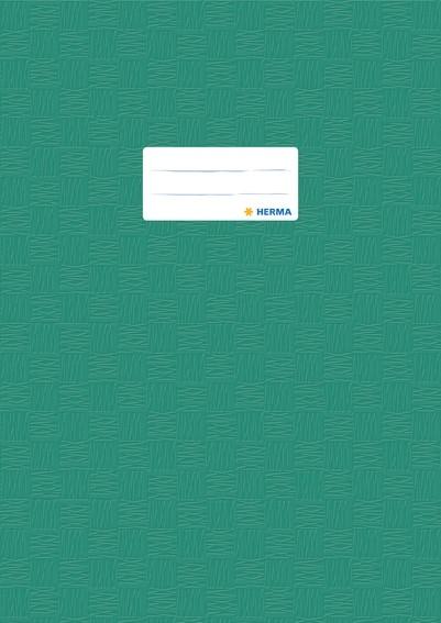 HERMA 7445 2500x Heftschoner PP A4 gedeckt/dunkelgrün
