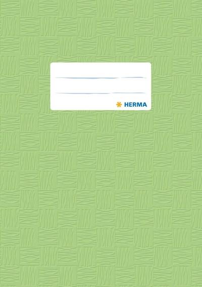 HERMA 7435 2500x Heftschoner PP A5 gedeckt/hellgrün