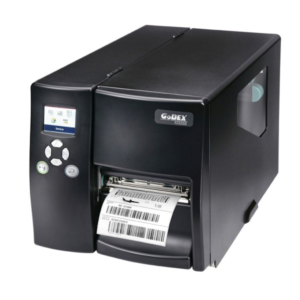 GoDEX Industriedrucker EZ2350i 300 dpi Lineraufwickler USB LAN s