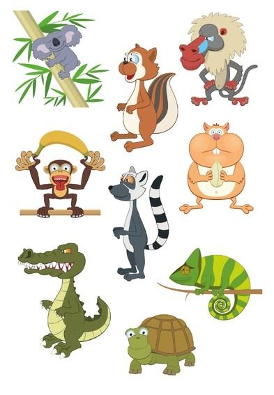 HERMA 3063 10x Sticker DECOR Zoo-linge
