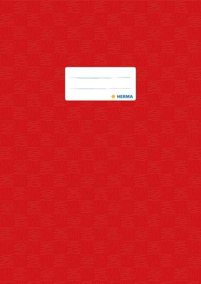 HERMA 7442 2500x Heftschoner PP A4 gedeckt/rot