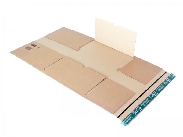 Buch-Versandverpackungen mit zentraler Packgutaufnahme DIN A3 43