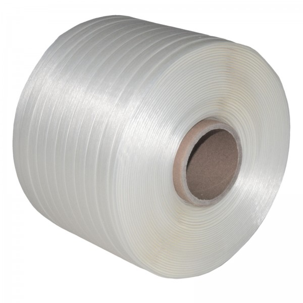 1 Rolle 13 mm 500 m 375 KG Ballenpresse Textil Band Umreifungsba