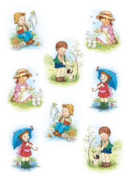 HERMA 3381 10x Sticker DECOR Kinder