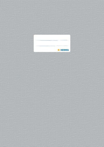 HERMA 7448 2500x Heftschoner PP A4 gedeckt/grau