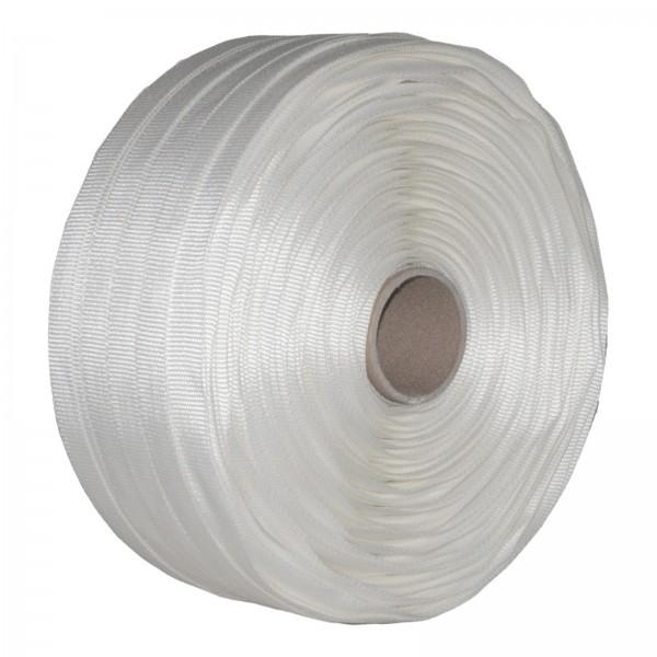 1 Rolle Textilband gewebt 25 mm 500 m 1000 KG Textil Band Umreif