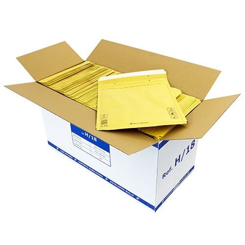 luftpolsterversandtasche braun 8 h 295 x 370 mm kk verpackungen. Black Bedroom Furniture Sets. Home Design Ideas