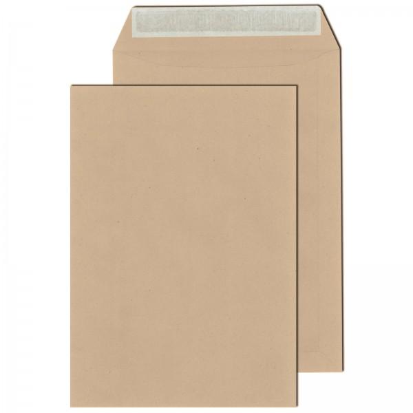 Versandtaschen DIN C4 110 g/m² Haftklebend Braun