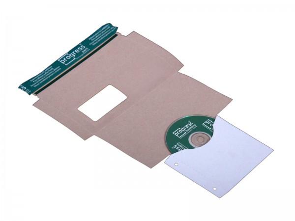 CD-Mailer DIN lang mit Archivtasche Fenster rechts