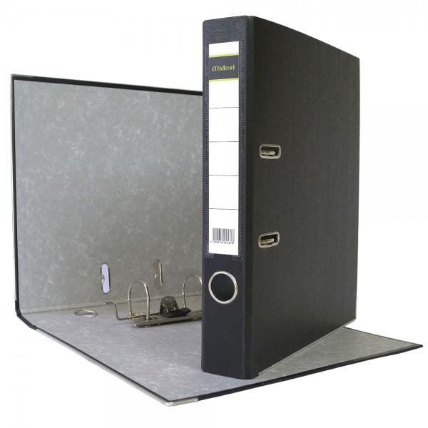 Ordner A4 5 cm PP Kunststoff schwarz Aktenordner Briefordner