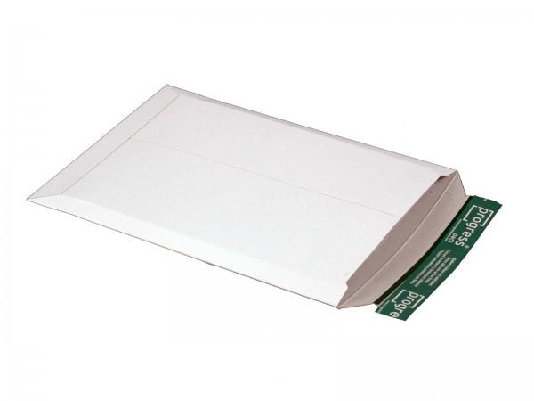 350 x 248 x -32 mm Versandtasche aus Vollpappe (weiß)