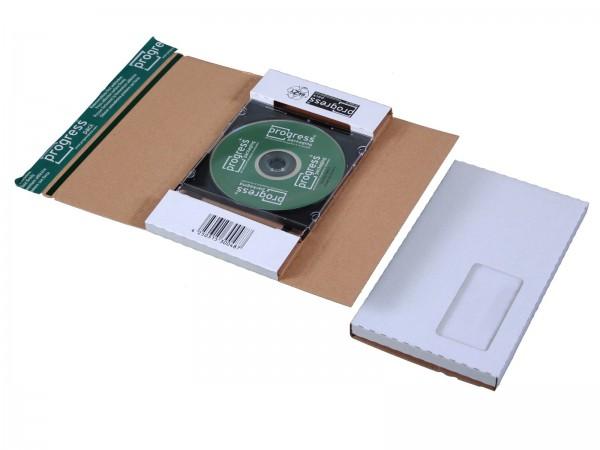 CD-Jewel-Mailer DIN lang Fenster links