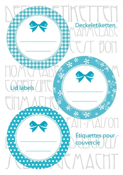 HERMA 15055 10x Sticker HOME Deckeletiketten Ø 44 türkis