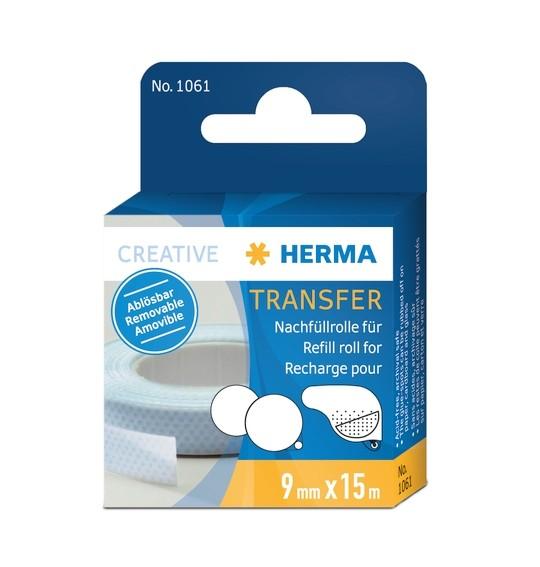 HERMA 1061 Transfer Nachfüllrolle, ablösbar, 15 m, 10 Stk.